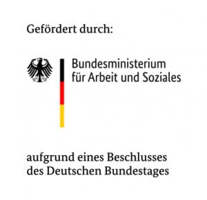 Logo: Bundesministerium für Arbeit und Soziales